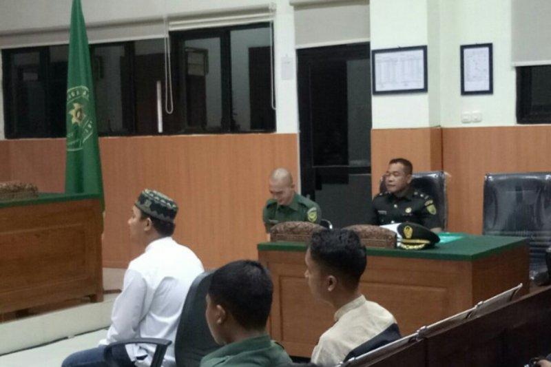 Oknum TNI terdakwa mutilasi pacar menangis  saat sidang perdana