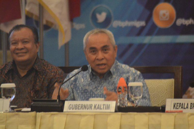 Gubernur Kaltim bantah pernah membandingkan wilayahnya dengan Kalteng