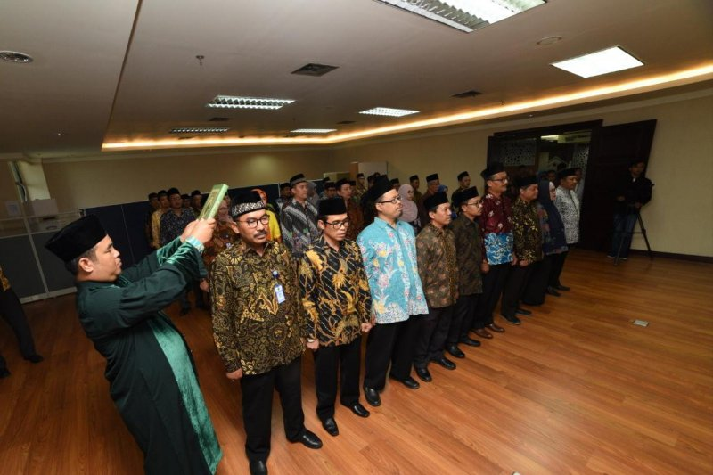 Kemenag lantik 42 pejabat urusan pendidikan Islam