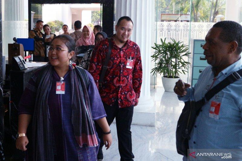Didi Kempot dkk mulai berdatangan di Istana Merdeka
