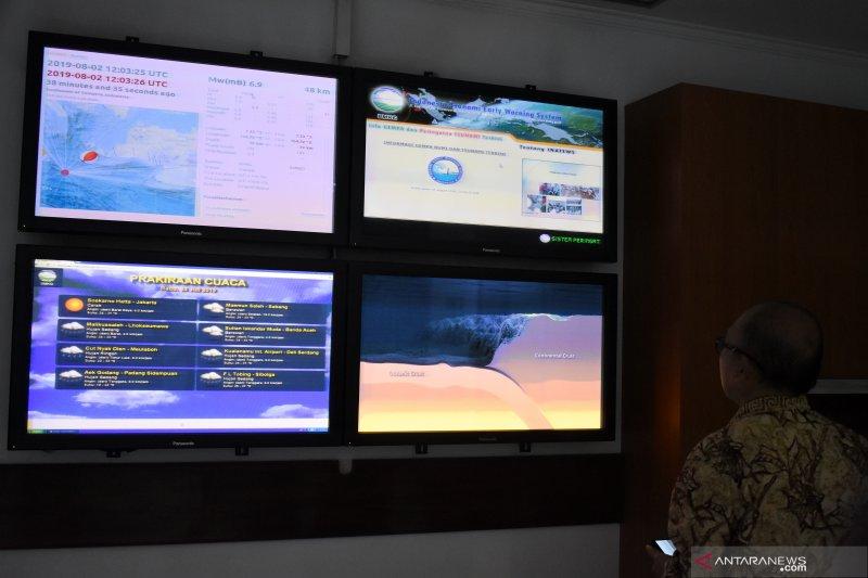 PVMBG: Gempa M 7,4 di lempeng Indo-Australia ke lempeng Eurasia
