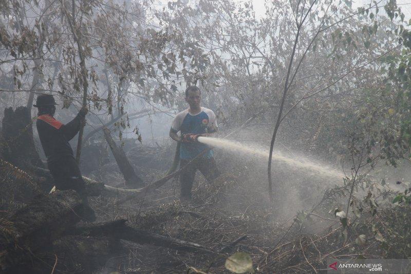 Upaya pemadaman Karhutla di Sumatera