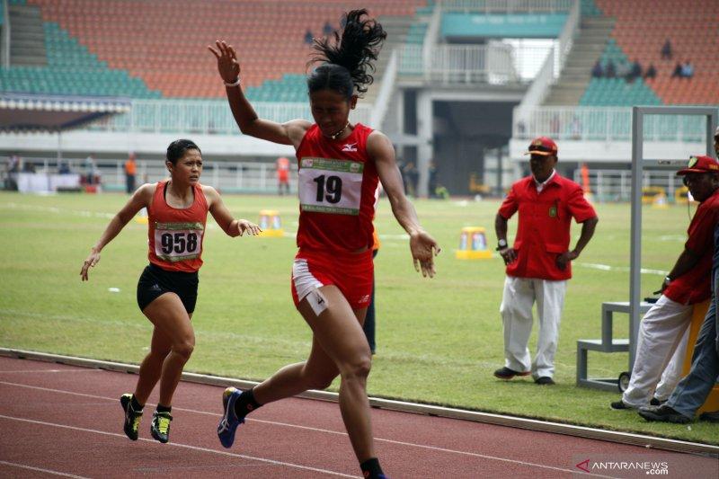 Kejurnas Atletik nomor lari 400 meter putri