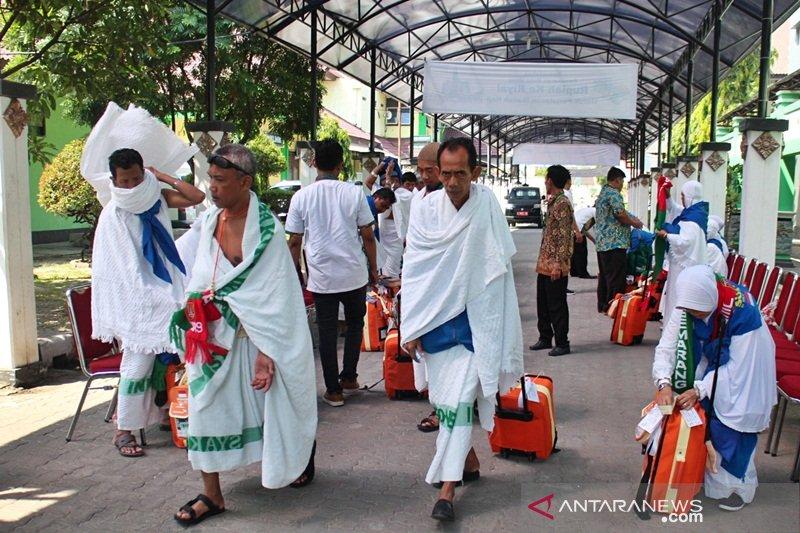 Embarkasi Surakarta berangkatkan  tiga kloter