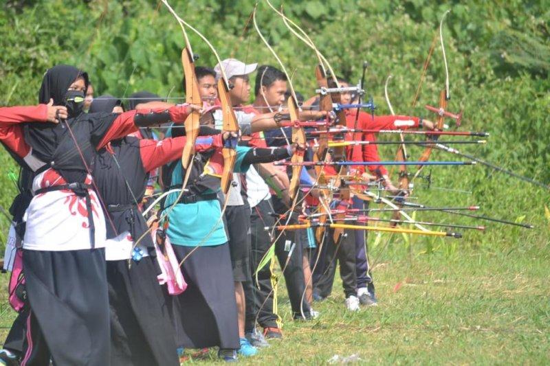 Perpani Sumatera Selatan seleksi  atlet bentuk tim Pra-PON