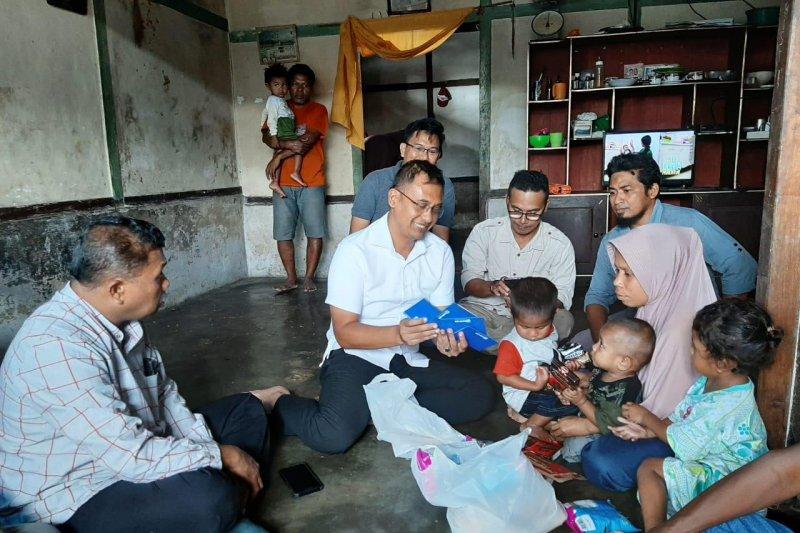 Polda Maluku bantu keluarga korban bentrokan di Latu