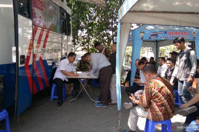 Layanan SIM dan samsat keliling di Jakarta Sabtu berikut lokasinya