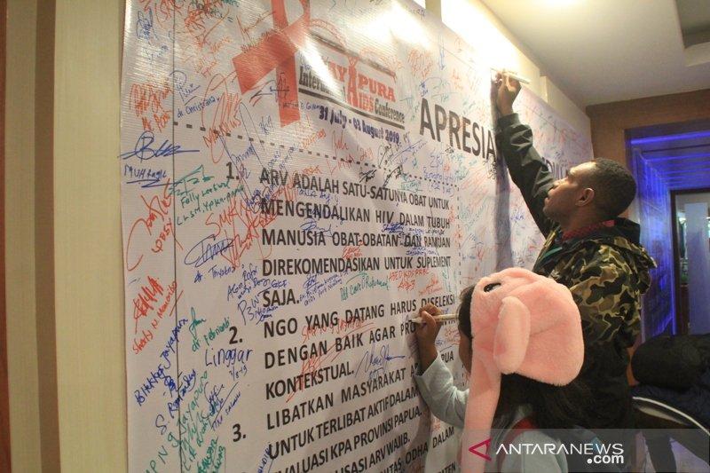Konferensi Internasional AIDS Jayapura hasilkan tujuh rekomendasi