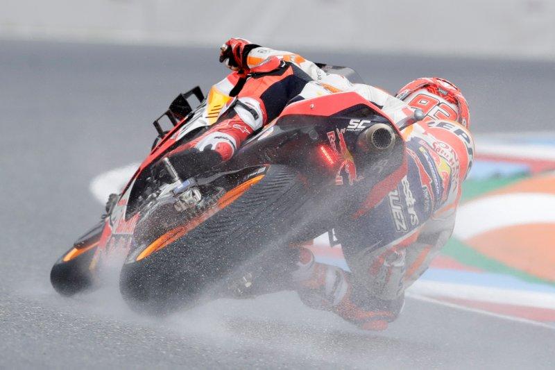 Marquez raih posisi start terdepan di GP Ceko