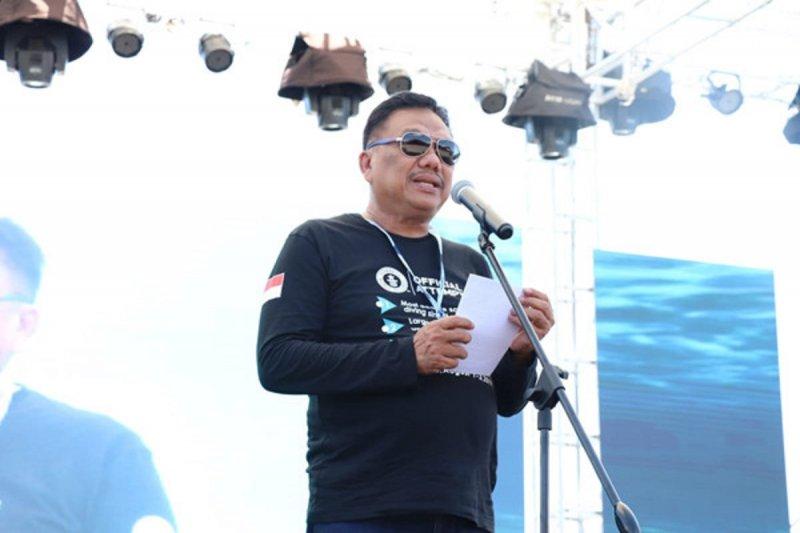 Gubernur Sulawesi Utara apresiasi pemecahan rekor selam dunia