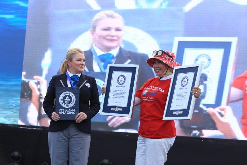 WASI kembali pecahkan dua rekor dunia selam