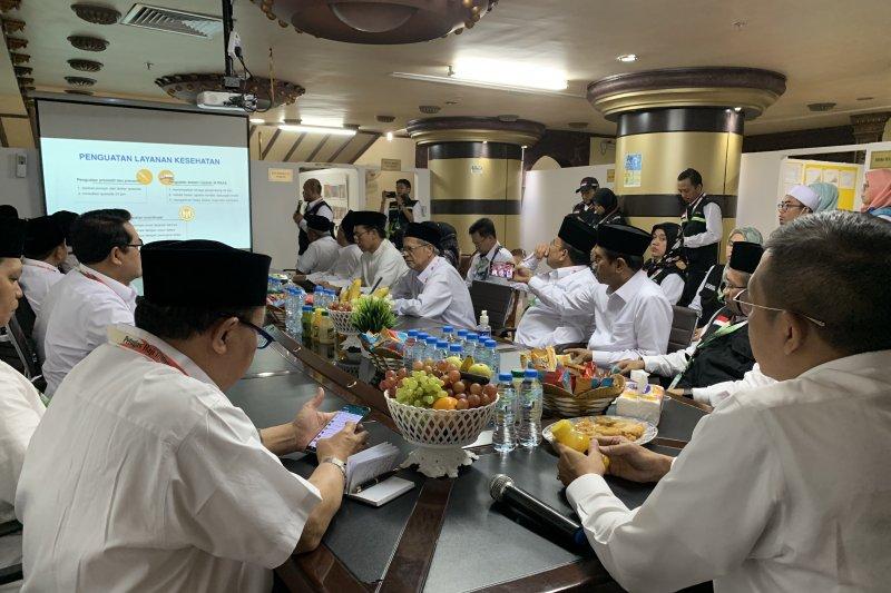 Tim kesehatan siap layani jamaah dalam proses Arafah-Mina