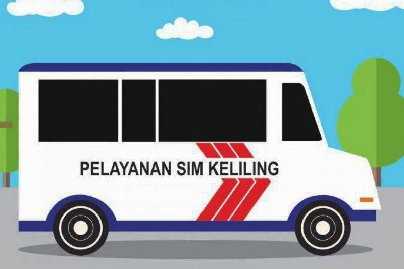 Ini tiga lokasi SIM Keliling di Jakarta Minggu