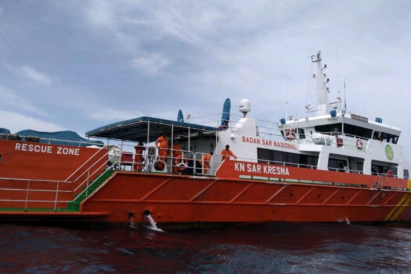 Kapal SAR KN Kresna hentikan pencarian nelayan Sabang