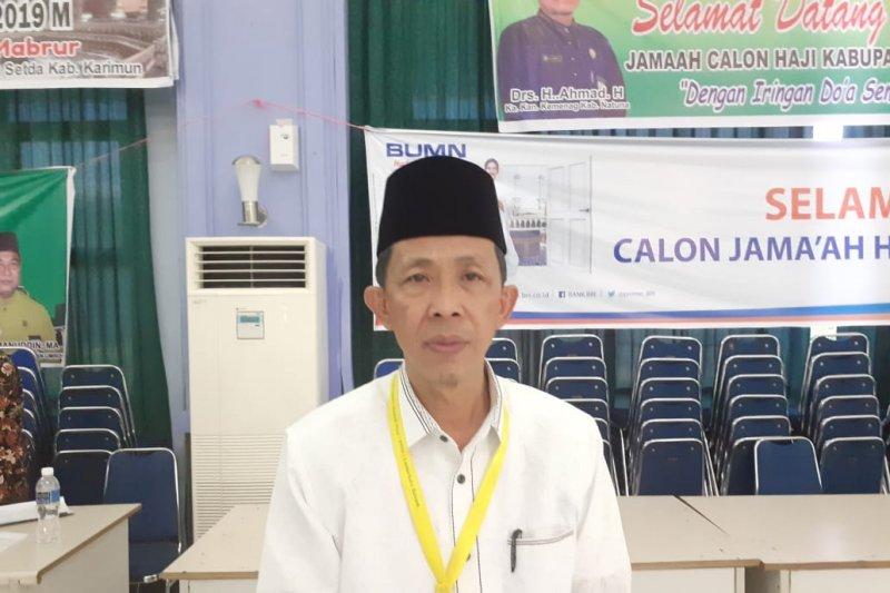 43 calon haji Embarkasi Batam gagal berangkat