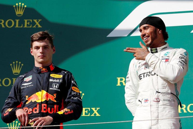 Lewis Hamilton menangi duel ketat dengan Verstappen di Hungaria