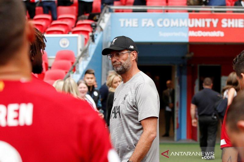 Klopp gembira atas penampilan Liverpool pada laga Community Shield kendati kecewa karena kalah adu penalti