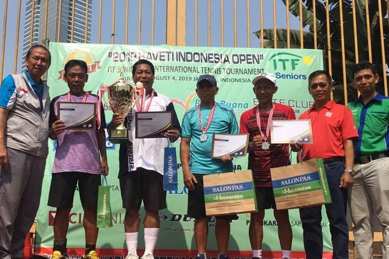 Wali Kota Magelang juara turnamen tenis senior internasional