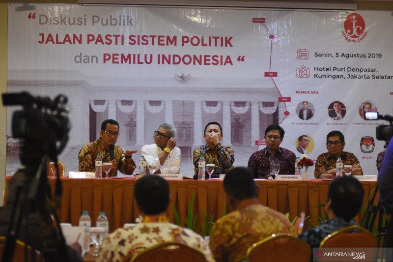 Diskusi Jalan Pasti Sistem Politik dan Pemilu Indonesia