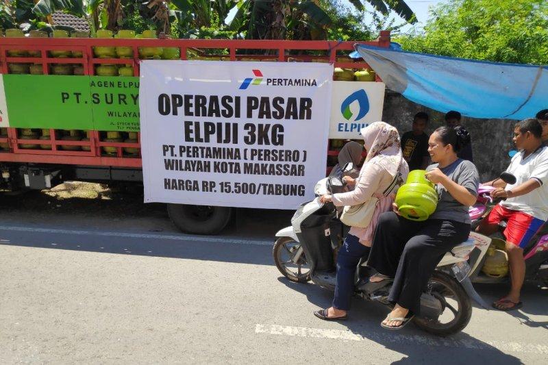 Pertamina minta masyarakat beli Elpiji di pangkalan resmi