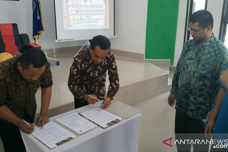 USN-LPJK Jalin kerja sama sertifikasi tenaga terampil