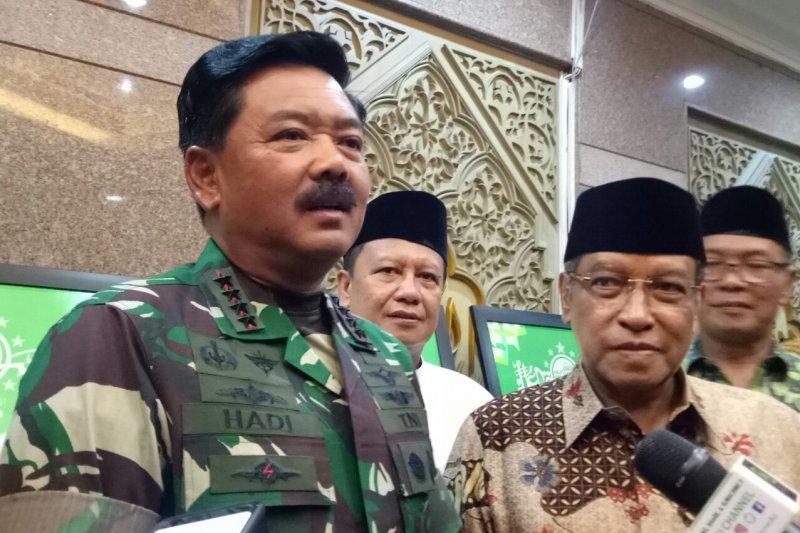 Panglima TNI sambangi kantor PBNU