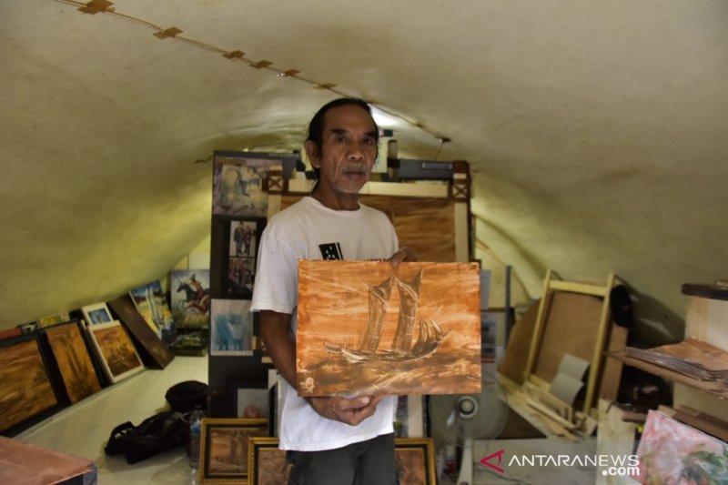 Zainal Beta  pelopor pelukis tanah liat yang jaga nasionalisme