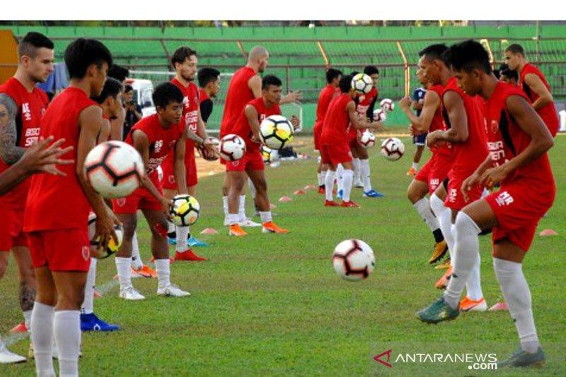 Latihan PSM Makassar jelang final Piala Indonesia