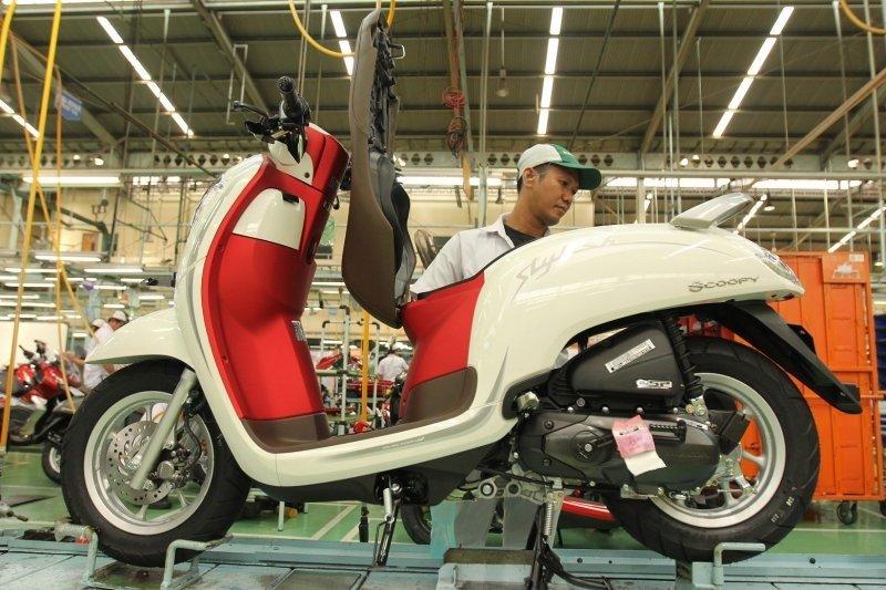 AHM perkenalkan Honda Scoopy merah putih jelang HUT RI