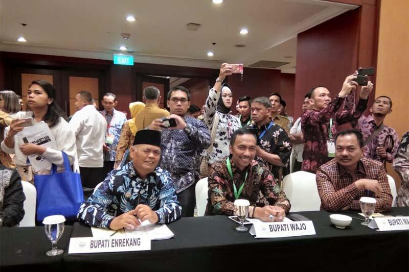 Wabup Wajo apresiasi KLHK-Kementerian ATR/BPN