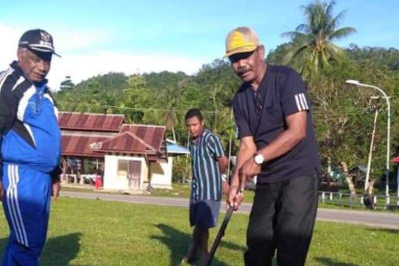 Pemkab Supiori bangun venue olahraga Woodball untuk PON