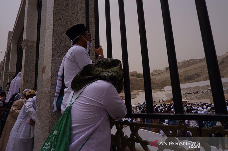 Pemakaman KH Maimoen Zubair di Ma'la, Mekkah