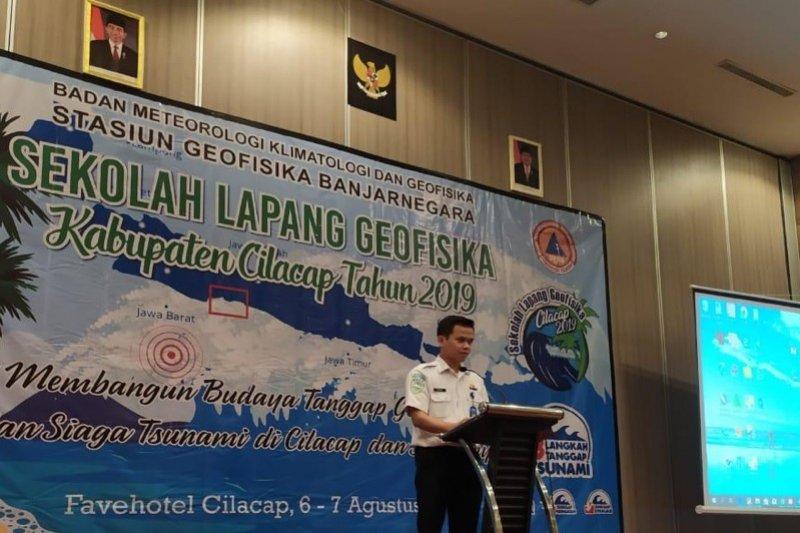 Stasiun Geofisika Banjarnegara sosialisasi gempa-tsunami di Cilacap
