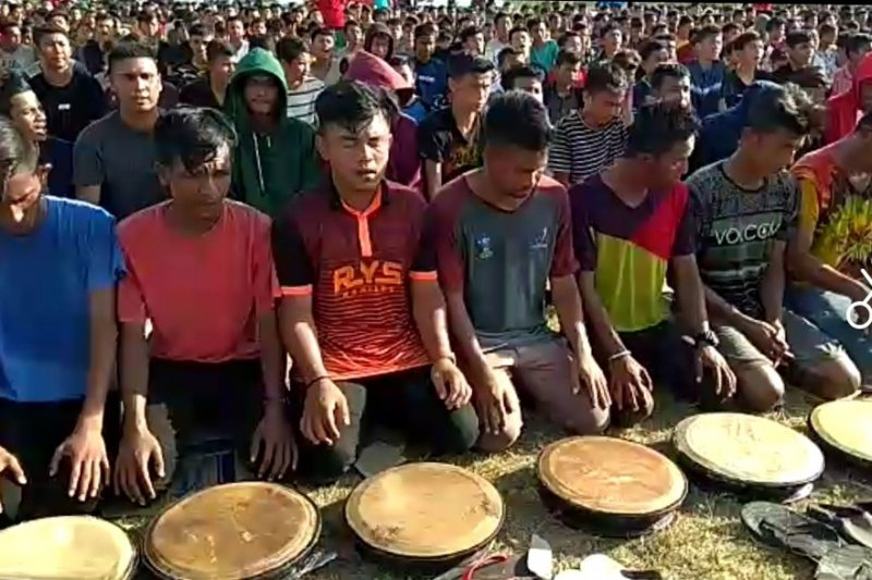 2.019 penari rapai geleng sambut HUT RI ke-74 di Aceh