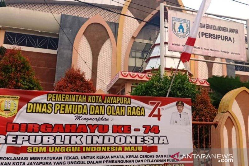 Pemkot Jayapura sosialisasikan logo HUT Ke-74 Kemerdekaan RI