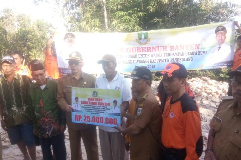 Gubernur Banten instruksikan OPD gerak cepat bantu korban gempa