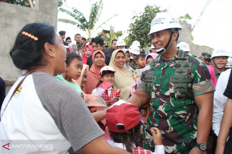 Kasad : TNI AD siap bantu Pemprov NTB menuntaskan Rehab Rekon