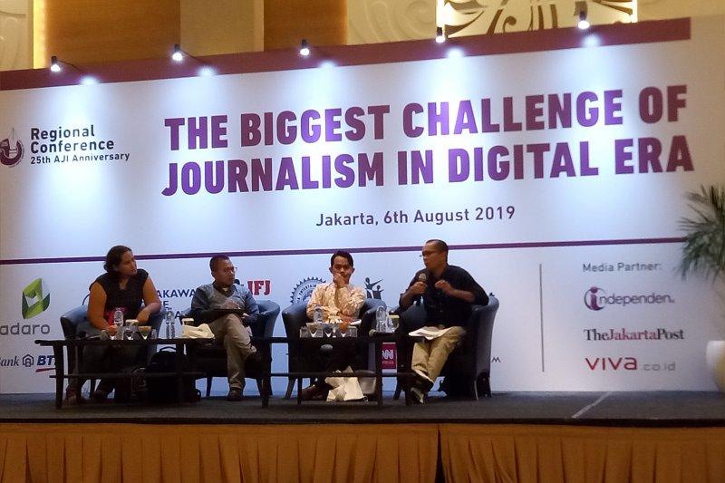 Rayakan HUT, AJI bahas tantangan pers di era dirupsi digital