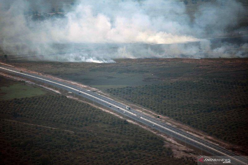 Jajaran Korem Gapo patroli kebakaran hutan dan lahan