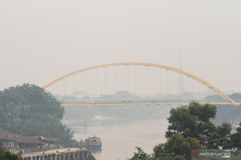 Korban terpapar asap di RS UNRI terus bertambah