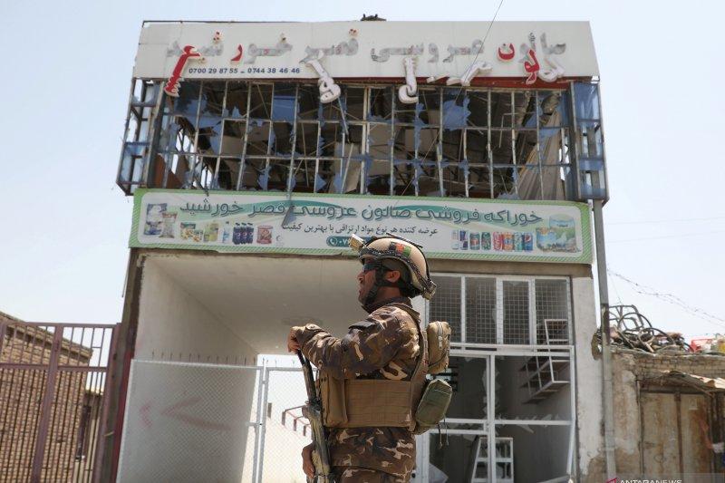 Bom bunuh diri saat pesta perkawinan di Afghanistan tewaskan 63 orang