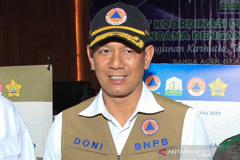 Kepala BNPB temukan kilang minyak di dekat lokasi karhutla