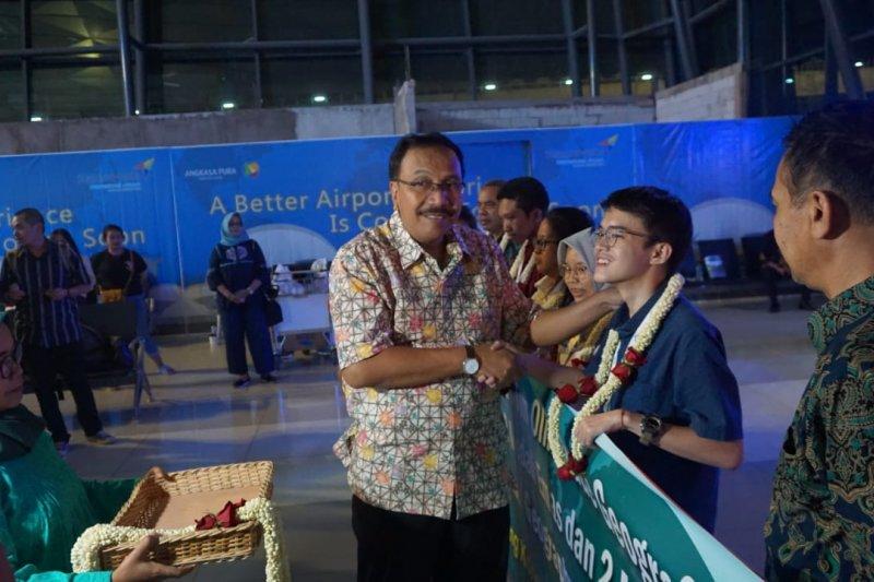 Indonesia juara umum olimpiade geografi internasional di Hong Kong