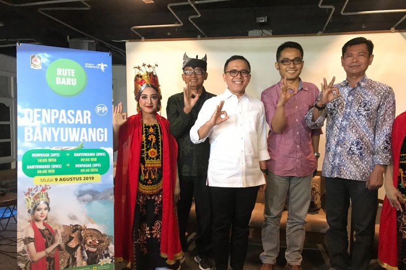 Rute Citilink Denpasar-Banyuwangi diharap dorong pariwisata