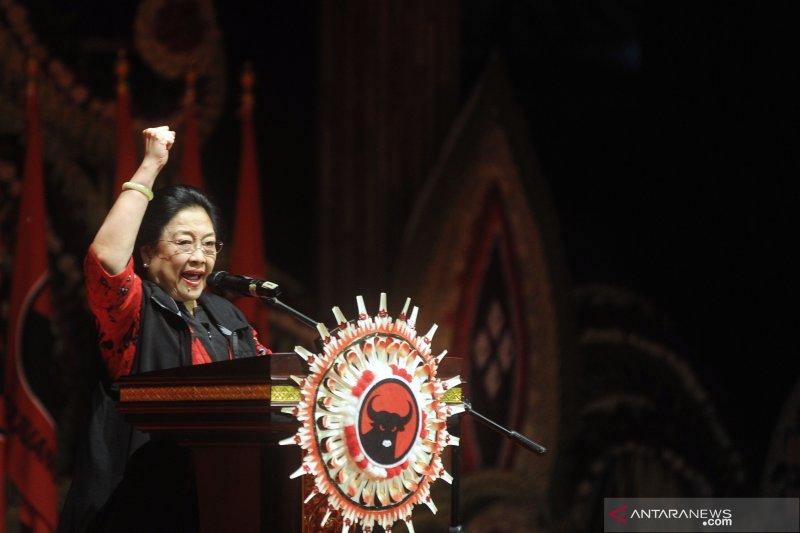 Kehadiran Prabowo di Kongres PDIP kuatkan isyarat menuju 2024