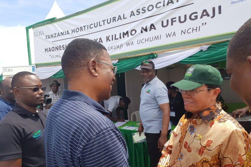 Model bertani Indonesia tingkatkan produksi padi Tanzania