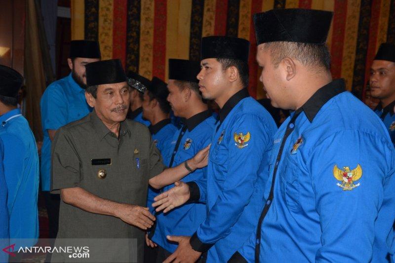 Bupati ajak KNPI Sijunjung berkolaborasi dengan pemerintah daerah