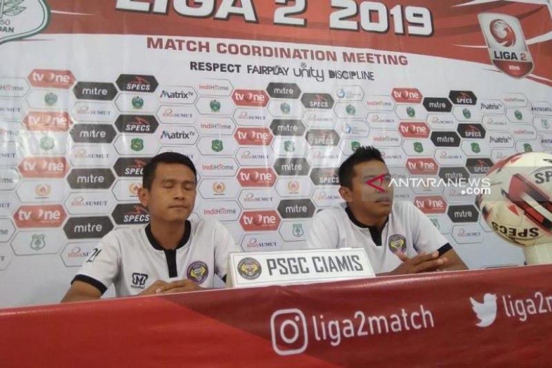 PSGC Ciamis tanpa empat pemain inti dalam laga tandang hadapi PSMS