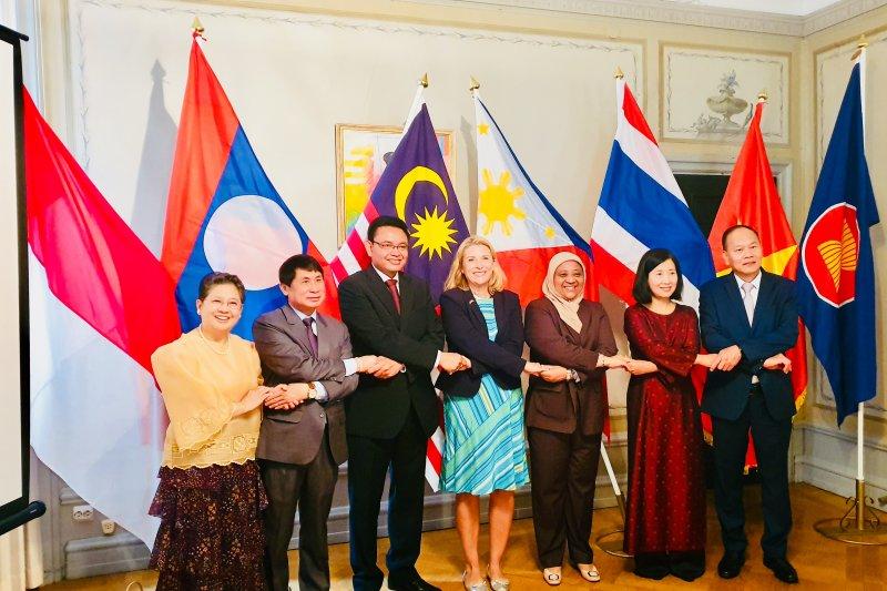 HUT ASEAN di Stockholm dihadiri Menteri Negara Swedia