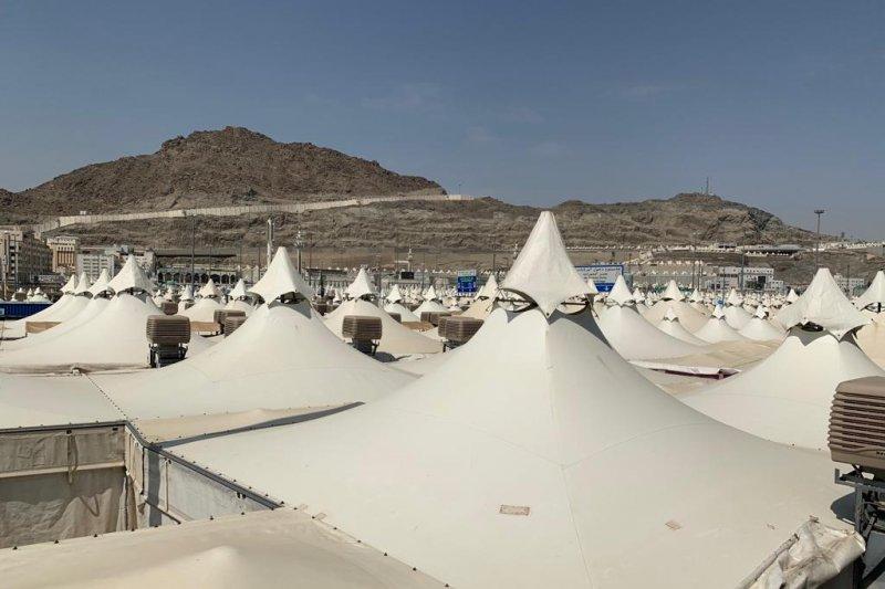 Petugas haji diberangkatkan ke Arafah mulai Jumat dinihari